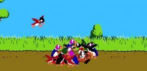 Dans cette vidéo, les personnages de jeux vidéo outrepassent les règles