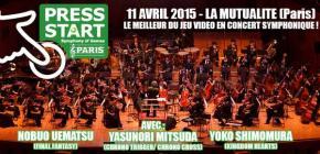 Concert Press Start Symphony of Games - demandez le programme