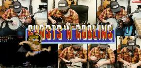 Reprise du theme de Ghosts n' Goblins au banjo