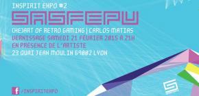 Inspirit Expo 2015 - seconde édition de l'expo graphique des jeux vidéo à Lyon