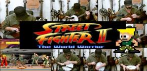 Reprise du Theme de Guile de Street Fighter II - Banjo Guy Ollie