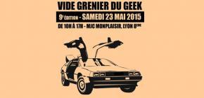 Le Vide Grenier du Geek à Lyon ouvre enfin les inscriptions aux futurs exposants