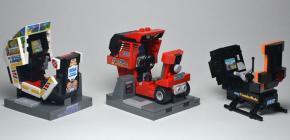 Des répliques de bornes d'arcade Sega en Lego incroyables de précision
