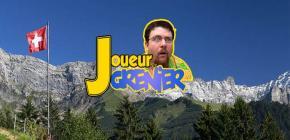 Le Joueur du Grenier exilé en Suisse !