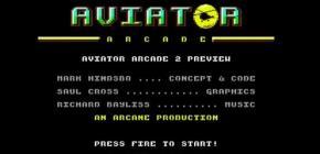 Aviator Arcade II - le nouveau shoot du C64