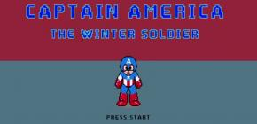 Captain America Winter Soldier 8 bits