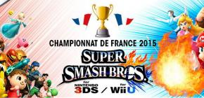 Super Smash Bros aura son championnat de France 2015