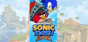 Angry Birds et Sonic Dash main dans la main