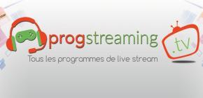 ProgStreamingTV - demandez le programme des WebTV et livestream