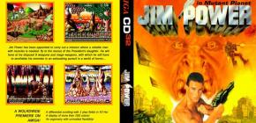 Jim Power sur Amiga CD32 - JCVD sur la jaquette