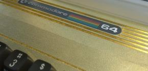 Golden Commodore C64 - bling bling 8-bit