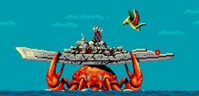 Gaurodan embo�te le pas � Maldita Castilla sur Sega Megadrive
