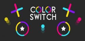 Jouer à Color Switch et en voir de toutes les couleurs