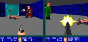 Unglaublich ! un mode multi pour jouer à Wolfenstein 3D sur écran splitté