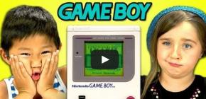 Kids React - des enfants découvrent votre Game Boy de vieillard
