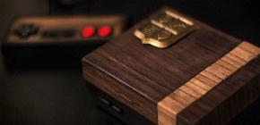Une Nintendo Classic NES Mini en bois pour le lancement de la Switch !