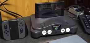 Done - utiliser une N64 pour fabriquer un dock Nintendo Switch