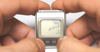 Vous pouvez enfin jouer à Tetris sur votre montre de 1984 !