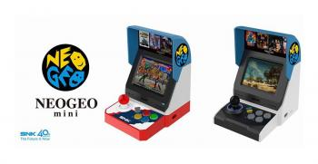 SNK officialise deux versions de sa Neo Geo Mini