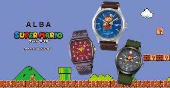 Avec Seiko, le Japon toujours à l'heure de Mario !