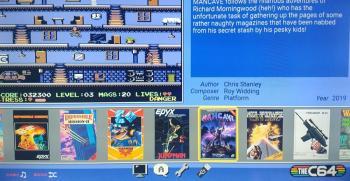 Mazinger Z - le robot géant atterri sur C64 !