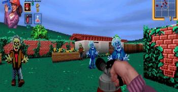 Zombies Ate My Neighbors se transforme en FPS dans un mod pour Doom II