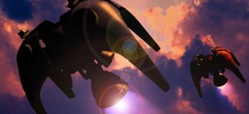 Radiant Silvergun - trésor vertical