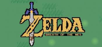 Zelda Breath of the NES - un souffle rétro