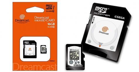 Des cartes SD collector SEGA Saturn, Dreamcast et Mega Drive