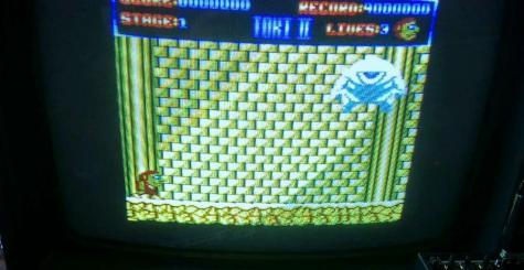Toki - la version Amstrad CPC impressionne en vidéo !