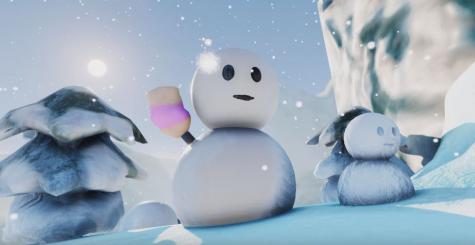 Remake de Super Mario 64 via Unreal Engine 4 - le niveau Cool Cool Mountain disponible gratuitement !