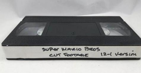 Super Mario Bros - une VHS pleine de scènes coupées du film fait surface !