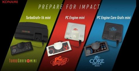 La PC Engine arrivera bientôt en version mini !