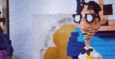3D - quand le pixel fait bonne impression