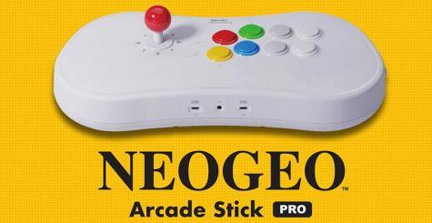 Neo Geo Arcade Pro Stick embarquera 20 jeux de combat SNK