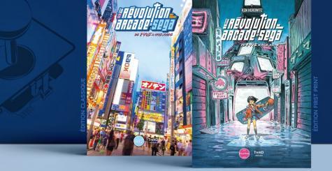 Third Editions vous propose de vivre la Révolution Arcade de SEGA de 1945 à nos jours