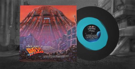 La bande originale de Space Quest IV réorchestrée, remixée et sur vinyle !