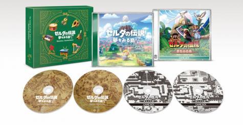 The Legend of Zelda Link's Awakening Original Soundtrack annoncé au Japon et en précommande !