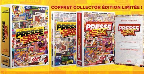 Presse Start - un livre se penche sur 40 ans de magazines de jeux vidéo en France