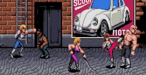 La version Amiga de Double Dragon se fait refaire le portrait par Electric Cafe