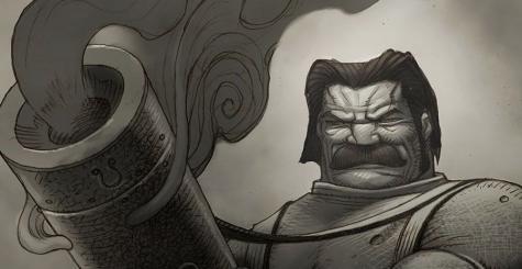 Dan Malone (Chaos Engine, Speedball 2) vend de sublimes artworks signés