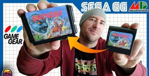 [TUTO Everdrive] Conversion SEGA Game Gear vers Mega Drive (et Master System) !
