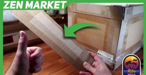 Zen Market : démonstration d'un colis renforcé (option à 8 euros)