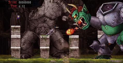 Capcom révèle Ghosts'n Goblins Resurrection et son Arcade Stadium !