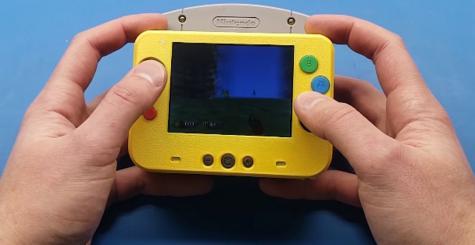 Voici la plus petite portable Nintendo 64 au monde !