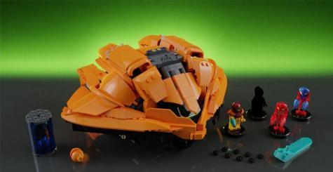 Une création Metroid en LEGO incroyablement détaillée !