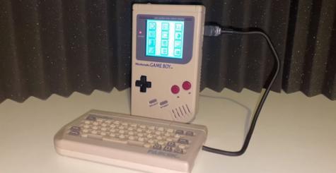 Work Boy - découverte d'un périphérique pour transformer la Game Boy en PDA !