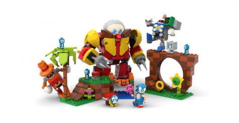 LEGO s'associe avec SEGA pour créer une boîte Sonic Mania - Green Hill Zone !