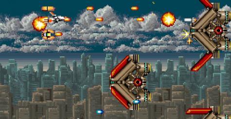 Arcade Archives - atterrissage réussi pour Thunder Cross
