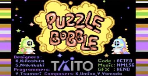 Puzzle Bobble sur C64 - c'est d'la bulle !